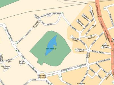 Molenbeek - Pontbeek: études hydrauliques en amont et au travers du parc Roi Baudouin - bureau agora