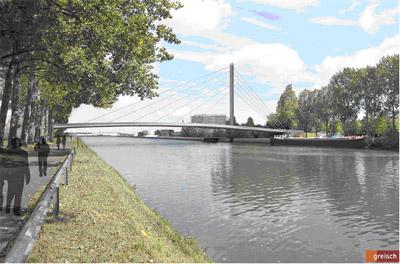 Etude d'incidences relative au projet de démolition - reconstruction du pont de la Petite Ile (Pont Marchant) à Anderlecht