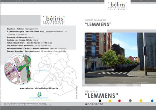 Contrat de Quartier Lemmens