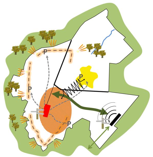 Renovation urbaine Centre Binche