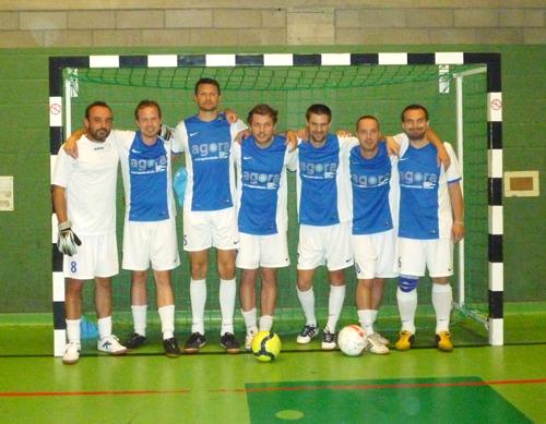 Equipe de minifoot du bureau Agora - Bruxelles
